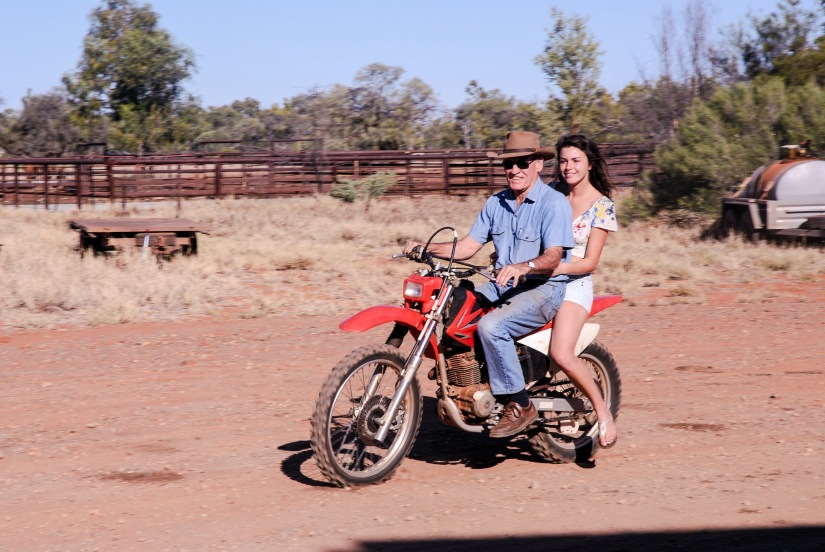 Life in a cattle station, Western Australia